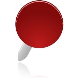 ピン赤無料アイコン 30 86 Kb 無料素材イラスト ベクターのフリーデザイナー