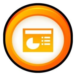 Microsoft Office Powerpoint 無料アイコン 78 13 Kb 無料素材イラスト ベクターのフリーデザイナー