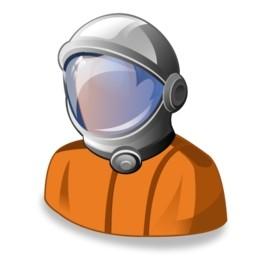 宇宙飛行士無料アイコン 79 01 Kb 無料素材イラスト ベクターのフリーデザイナー