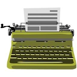 タイプライター無料アイコン 79 62 Kb 無料素材イラスト ベクターのフリーデザイナー