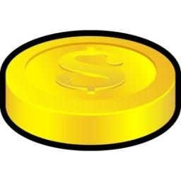 コイン無料アイコン 59 04 Kb 無料素材イラスト ベクターのフリーデザイナー