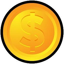 コイン無料アイコン 52 56 Kb 無料素材イラスト ベクターのフリーデザイナー