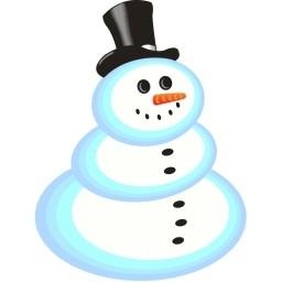 雪だるま無料アイコン 50 32 Kb 無料素材イラスト ベクターのフリーデザイナー
