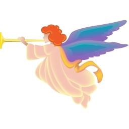 クリスマス天使無料アイコン 58 39 Kb 無料素材イラスト ベクターのフリーデザイナー