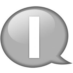 ふきだしホワイト I 無料アイコン 52 09 Kb 無料素材イラスト ベクターのフリーデザイナー