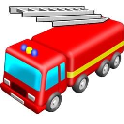 消防車の無料アイコン 96 58 Kb 無料素材イラスト ベクターのフリーデザイナー