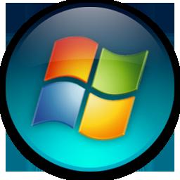 Windows Vista ロゴ シリーズ マルチ カラー透明な Png 形式のアイコンのラウンドします 無料素材イラスト ベクターのフリー デザイナー