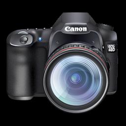 キヤノン 40 D デジタル一眼レフ カメラ アイコン Png 無料素材イラスト ベクターのフリーデザイナー