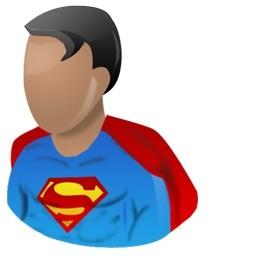 スーパーマンの無料アイコン 77 55 Kb 無料素材イラスト ベクターのフリーデザイナー