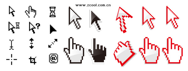 Free Mouse Pointer Icons