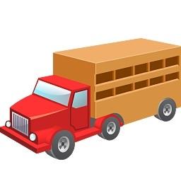 牛ワゴン無料アイコン 59 13 Kb 無料素材イラスト ベクターのフリーデザイナー