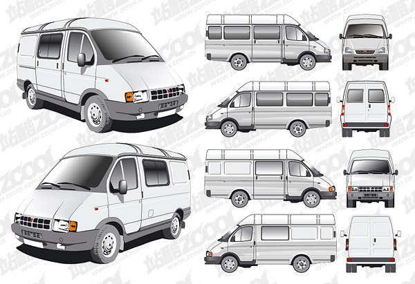 for Free vehicle templates vector
