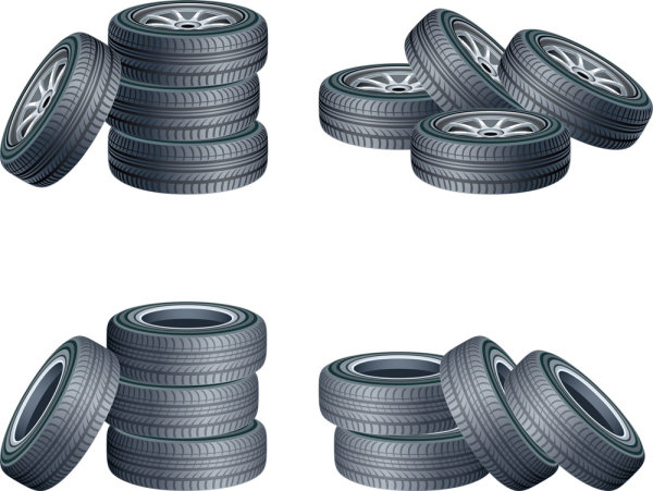 Free Tire Vector Clip Art