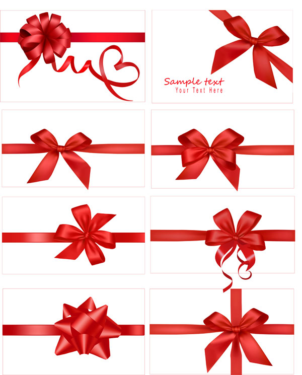 Free Vector Gift Bow
