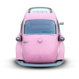 ピンク車無料アイコン 101 28 Kb 無料素材イラスト ベクターのフリーデザイナー