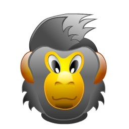猿の Vista のアイコン 無料のアイコン 無料素材イラスト ベクターのフリーデザイナー
