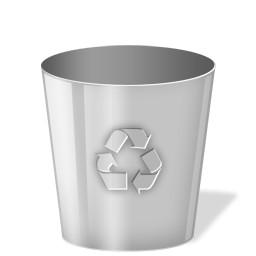 灰色ごみ箱 Vista のアイコン 無料のアイコン 無料素材イラスト ベクターのフリーデザイナー