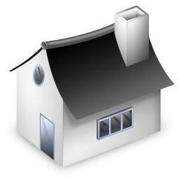 Vista の小さな家のアイコン 無料のアイコン 無料素材イラスト ベクターのフリーデザイナー