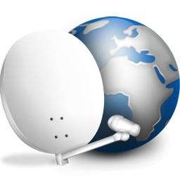 Parabol Antenal と地球地球眺めアイコン 無料のアイコン 無料素材イラスト ベクターのフリーデザイナー