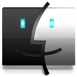 黒と白の顔 Vista のアイコン 無料のアイコンをけん引 無料素材イラスト ベクターのフリーデザイナー