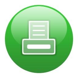 グリーン グローブ印刷 Vista のアイコン 無料のアイコン 無料素材イラスト ベクターのフリーデザイナー